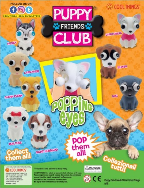 Puppy Club Squishy Paws 50 mm (2)