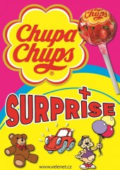 Chupa chups 6g + Surprise 90mm